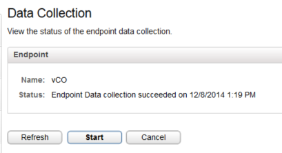 vRealize and vCo - vCO Endpoint Status