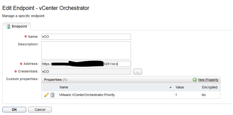 vRealize and vCo - vCO Endpoint