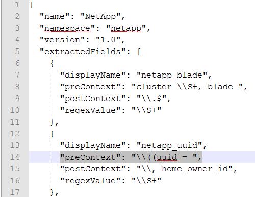vRealize Log Insight Netapp Content Pack - Netapp Content Pack upload error