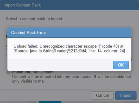 vRealize Log Insight Netapp Content Pack - Netapp Error